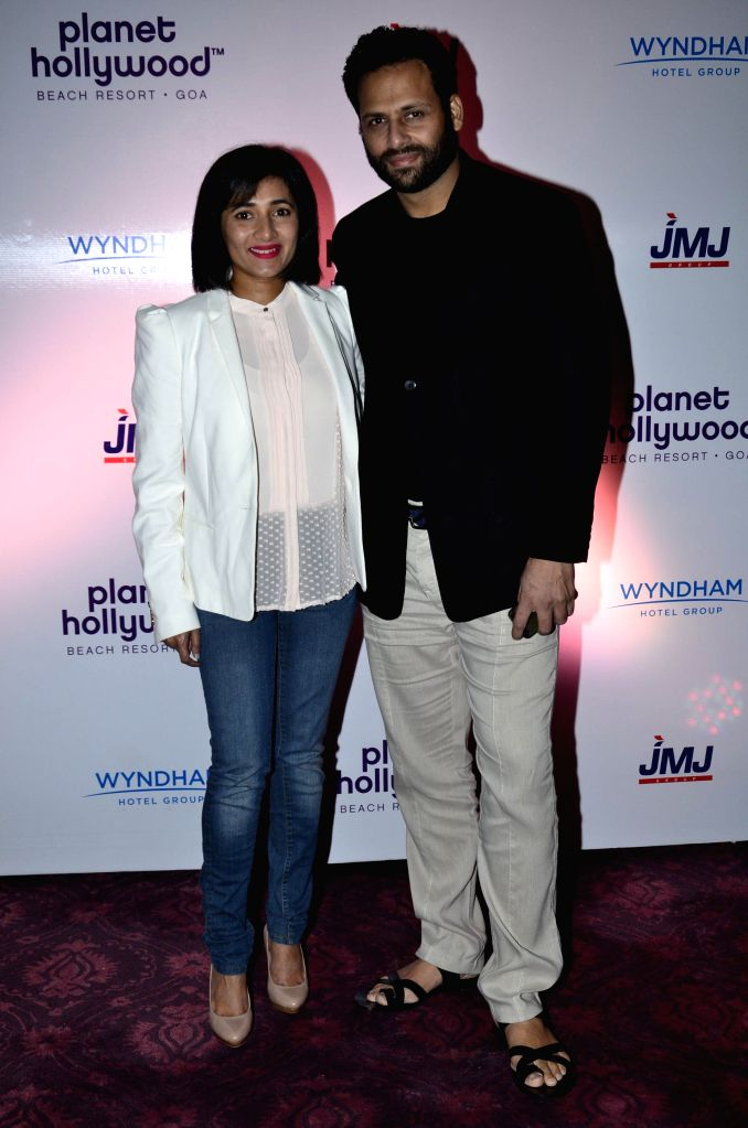 Actor and JWJ Group Managing Director, Sachiin Joshi during the signing ceremony between JWJ group and Planet Hollywood Hotel in Mumbai on Oct. 9, 2014. - Sachiin Joshi