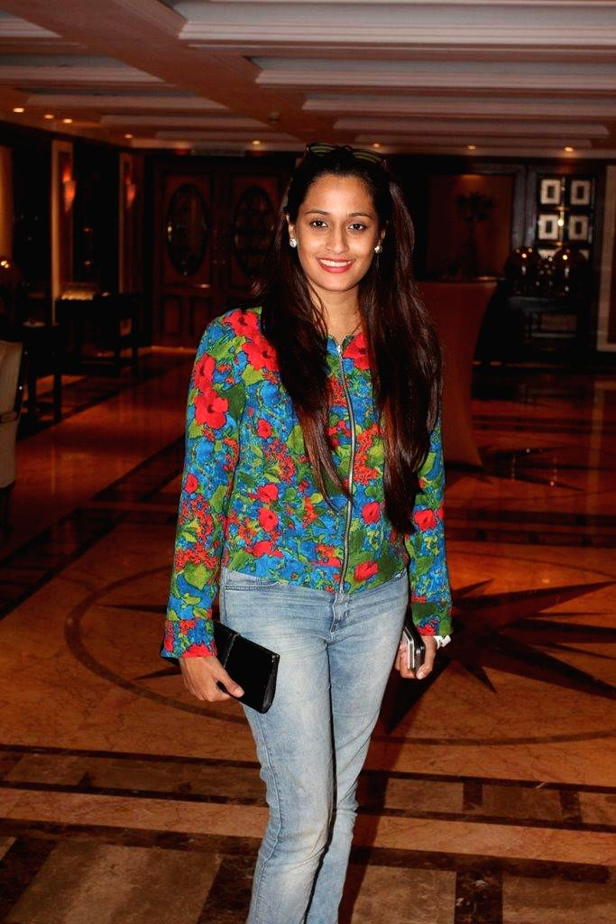 :Actor and singer Shweta Pandit during the launch of MARD song in Mumbai on Sept. 23, 2014. (Photo: IANS).