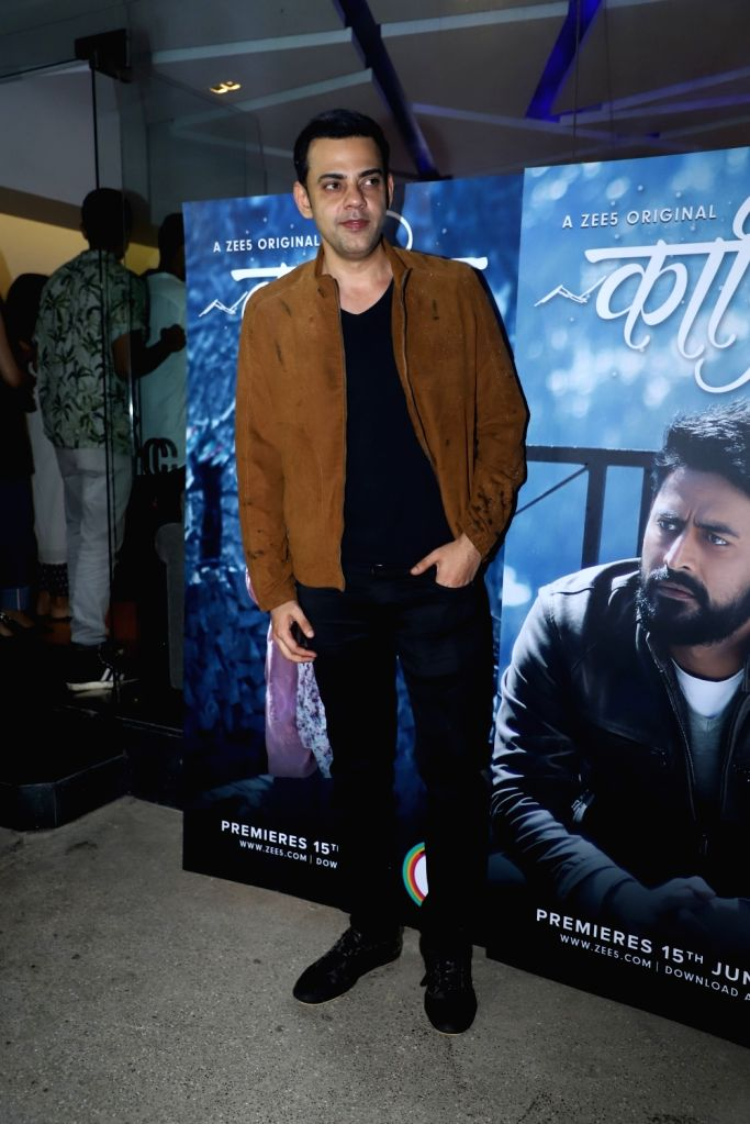 "Actor and VJ Cyrus Sahukar at the premiere of the upcoming web series ""Kaafir"" in Mumbai on June 14, 2019."