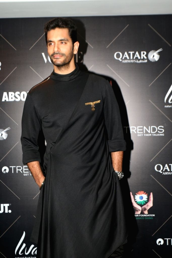 "Actor Angad Bedi at the red carpet of ""Vogue Beauty Awards"" in Mumbai on July 31, 2018. - Angad Bedi"