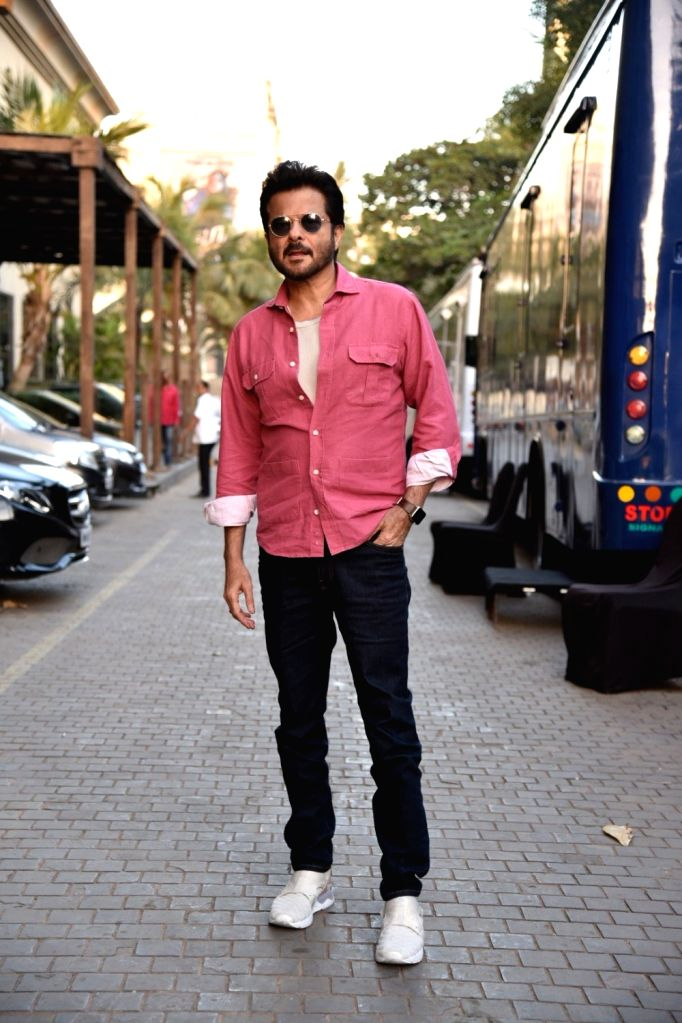 "Actor Anil Kapoor ahead of an interview regarding ""Total Dhamaal"" in Mumbai on Feb 8, 2019. - Anil Kapoor"