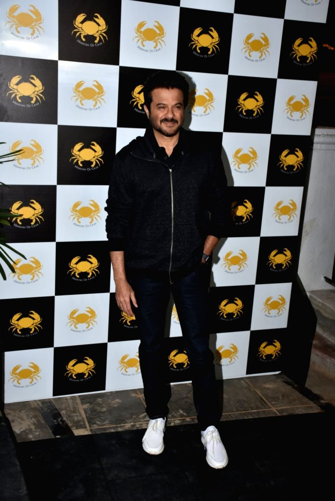 Actor Anil Kapoor at a Mumbai seafood restaurant on Feb 9, 2019. - Anil Kapoor