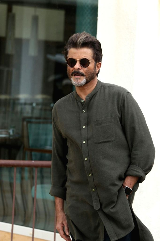 "Actor Anil Kapoor at media interactions during the promotions of their upcoming film ""Fanney Khan"", in Mumbai on July 21, 2018. - Anil Kapoor and Fanney Khan"