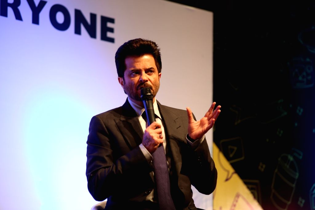 Actor Anil Kapoor at the inauguration of 10th Jagran Film Festival (JFF) in New Delhi on July 18, 2019. - Anil Kapoor
