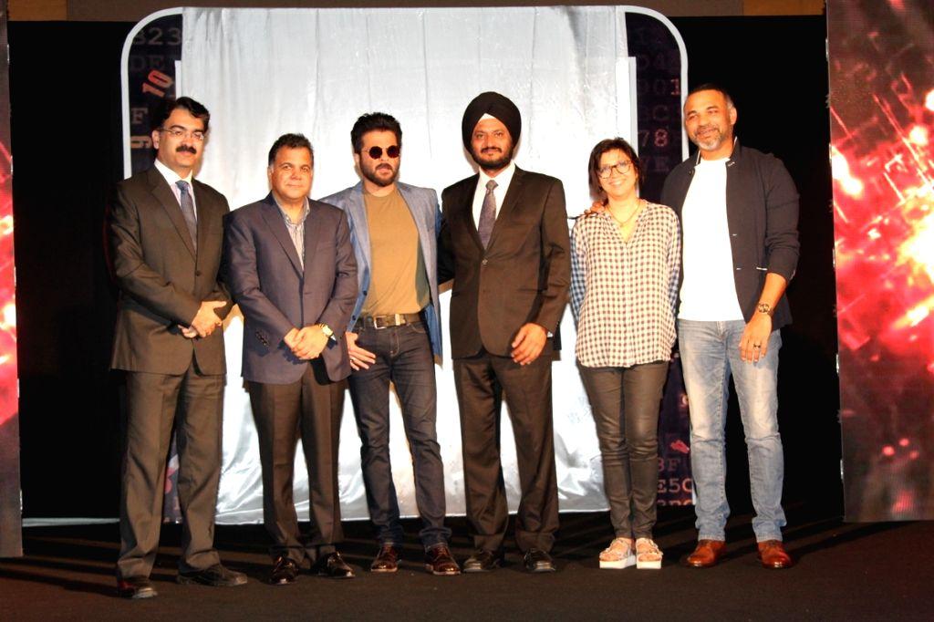 Actor Anil Kapoor at the launch of TV Series 24 Season 2 in Mumbai on Oct 20, 2015.