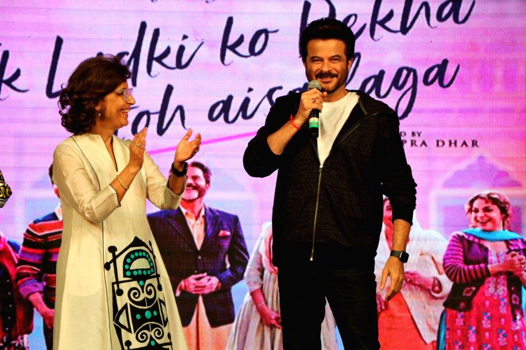 "Actor Anil Kapoor at the promotion of his upcoming film ""Ek Ladki Ko Dekha Toh Aisa Laga"" at a Mumbai college on Jan 22, 2019. - Anil Kapoor"