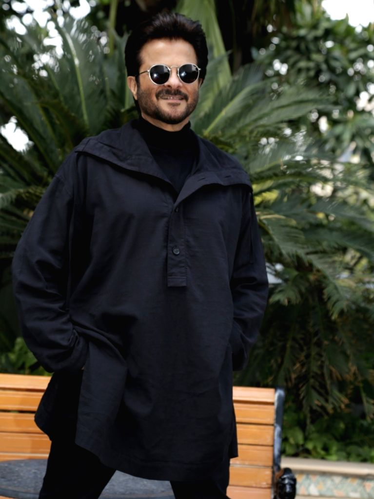 """Actor Anil Kapoor at the promotional interview of his upcoming film """"Total Dhamaal"""" in New Delhi, on Feb 18, 2019. - Anil Kapoor"""