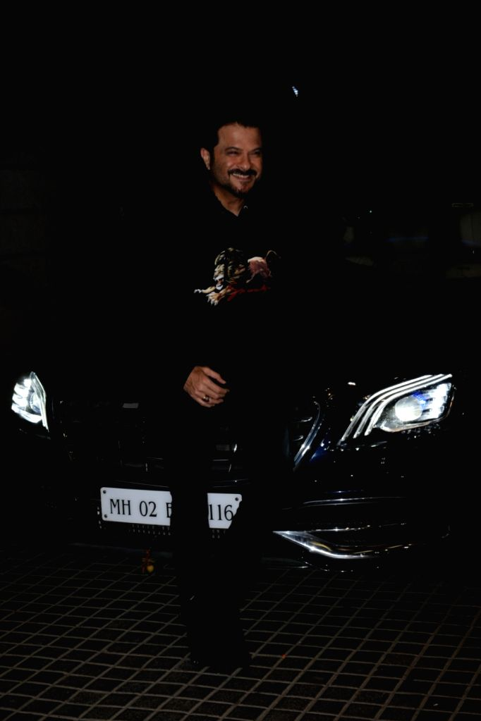 """Actor Anil Kapoor at the screening of upcoming film """"India's Most Wanted"""" in Mumbai, on May 20, 2019. - Anil Kapoor"""