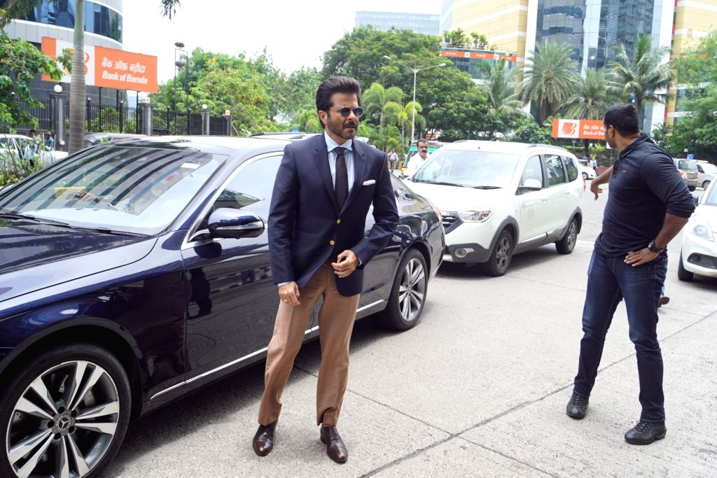"""Actor Anil Kapoor at the trailer launch of his upcoming film """"Fanney Khan"""" in Mumbai on July 6, 2018. - Anil Kapoor and Fanney Khan"""