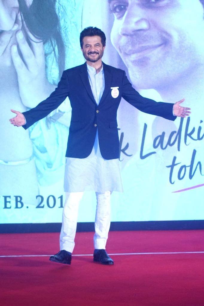 "Actor Anil Kapoor during a press conference to promote his upcoming film ""Ek Ladki Ko Dekha Toh Aisa Laga"" in Mumbai, on Jan 28, 2019. - Anil Kapoor"