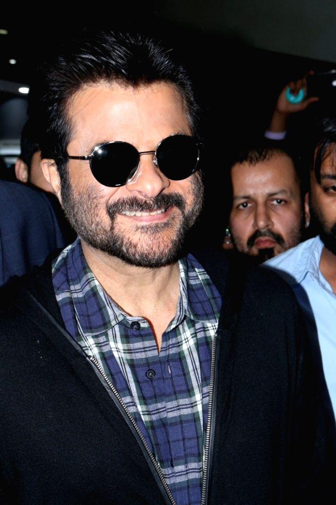 Actor Anil Kapoor during a promotional event in Mumbai on Nov 12, 2016. - Anil Kapoor