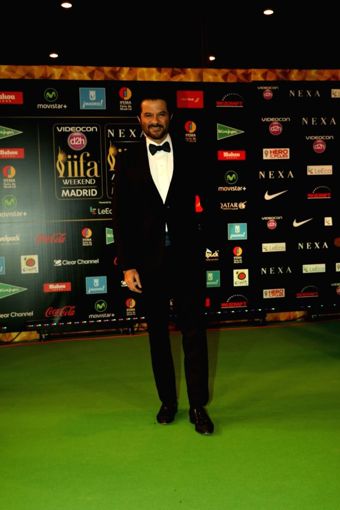 Actor Anil Kapoor during Awards 2016 in Madrid on June 26, 2016. - Anil Kapoor