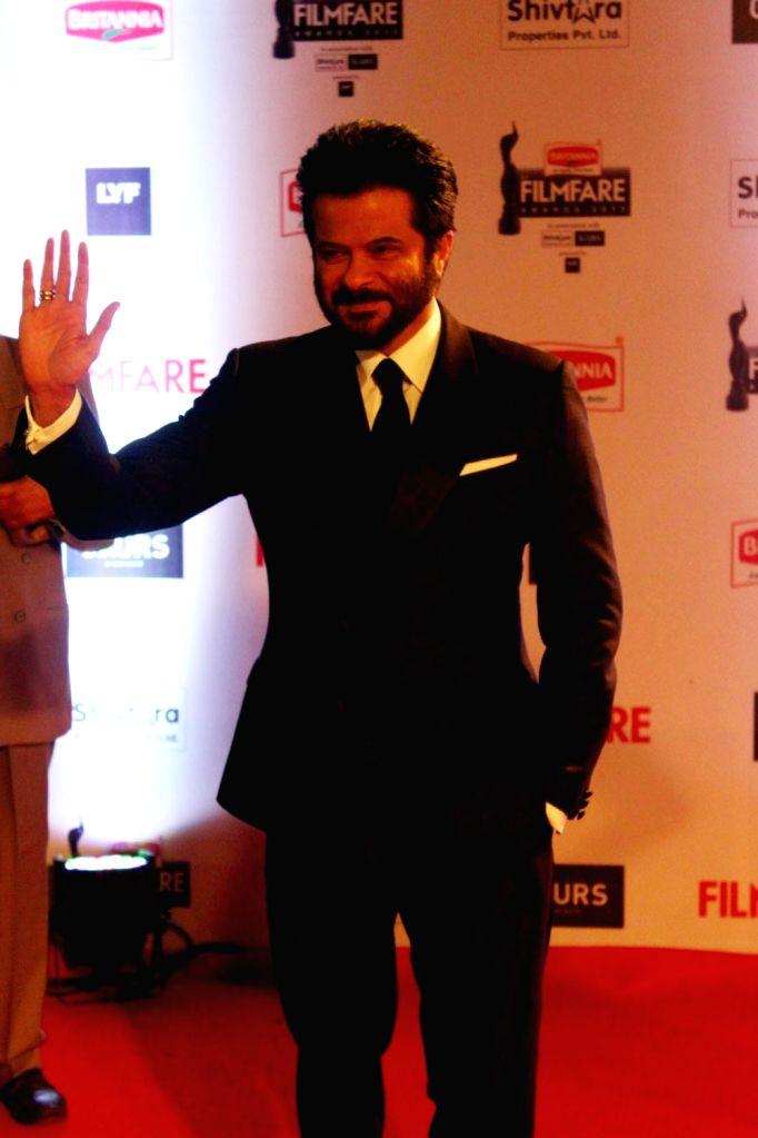 Actor Anil Kapoor during the 61st Britannia Filmfare Awards in Mumbai on January 15, 2016. - Anil Kapoor