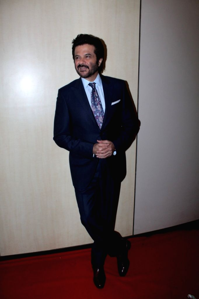 Actor Anil Kapoor during the Dada Saheb Phalke Academy Awards 2017 in Mumbai on June 1, 2017. - Anil Kapoor