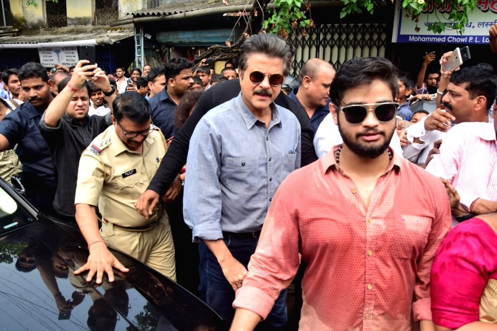 Actor Anil Kapoor during the launch of Swachh Chembur, Swachh Mumbai Project in Mumbai on Sept 16, 2017. - Anil Kapoor
