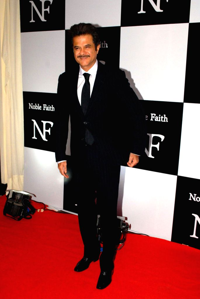 Actor Anil Kapoor during the launch of the brand Noble Faith in Mumbai on Aug 14, 2014. - Anil Kapoor