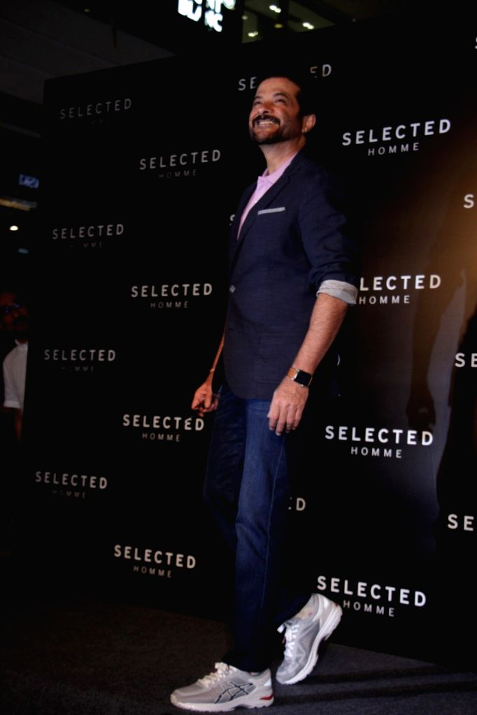 Actor Anil Kapoor during the launch Premium menswear collection brand selected Homme store in Mumbai on May 5, 2017. - Anil Kapoor