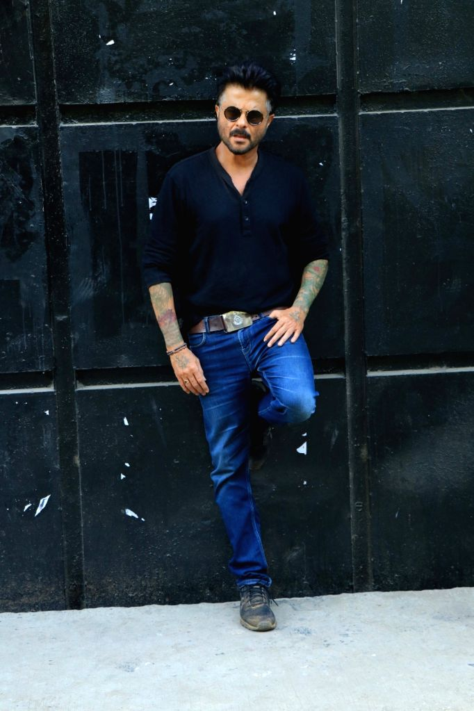 """Actor Anil Kapoor during the promotions of his upcoming film """"Malang"""" in Mumbai on Dec 12, 2019. - Anil Kapoor"""