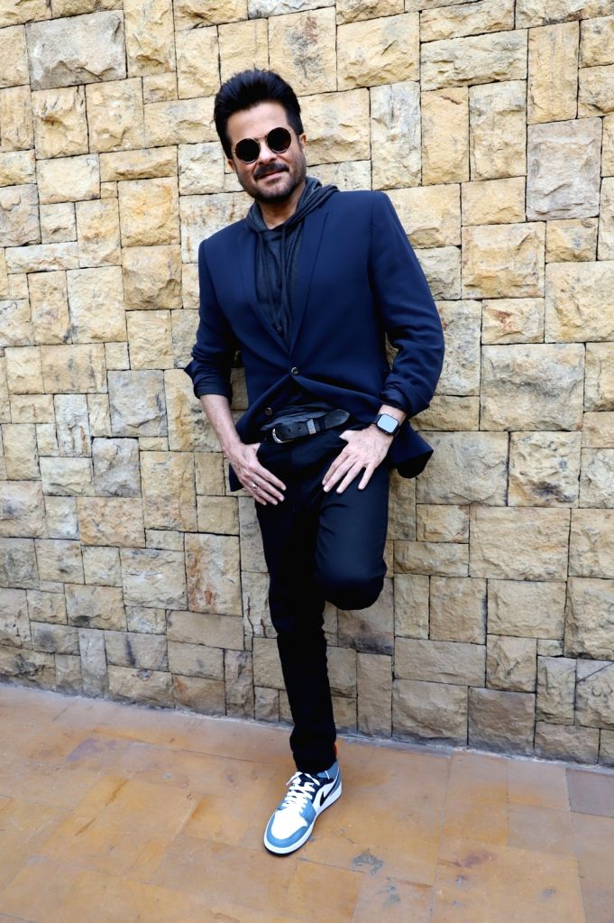"""Actor Anil Kapoor during the promotions of his upcoming film """"Malang"""" in Mumbai on Feb 5, 2020. - Anil Kapoor"""