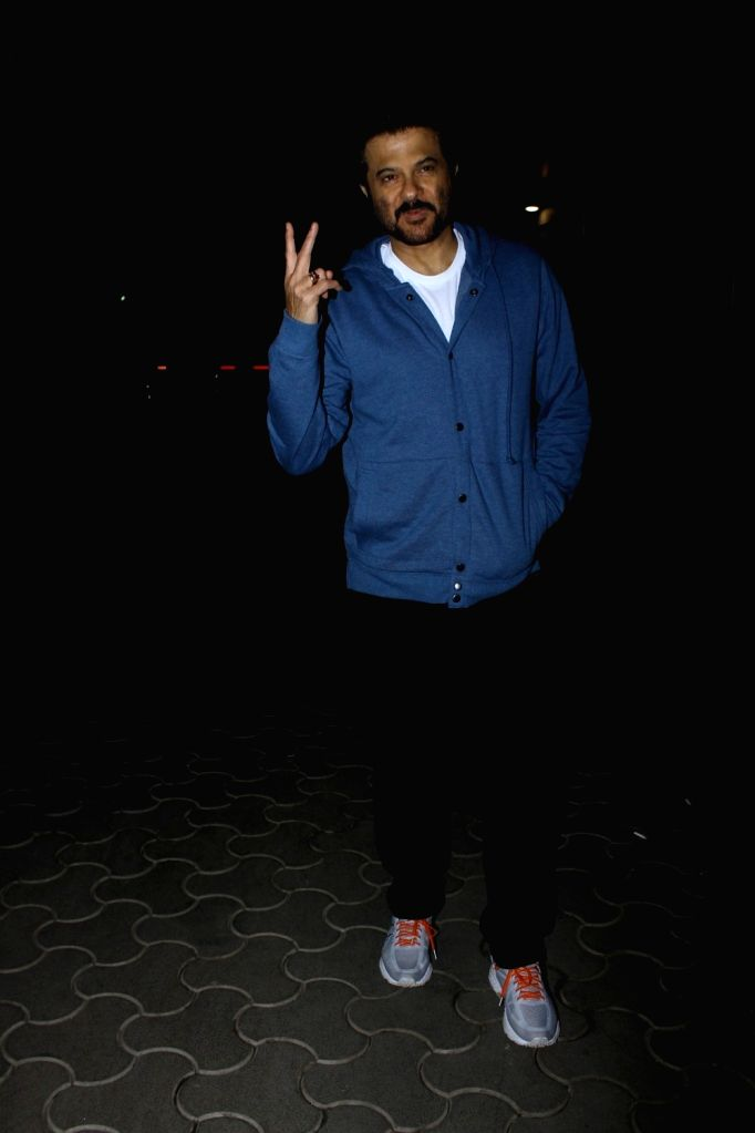 Actor Anil Kapoor during the screening of film Tubelight, in Mumbai, on June 22, 2017. - Anil Kapoor