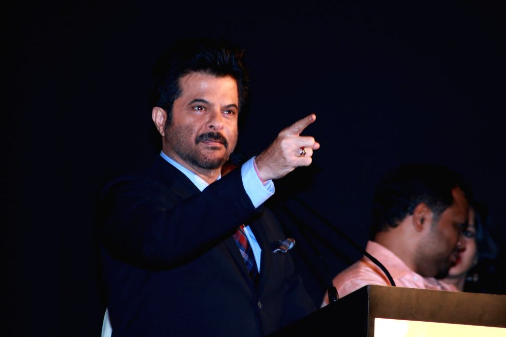 Actor Anil Kapoor during the trailer and audio launch of Telugu film `Uyire Uyire`. - Anil Kapoor