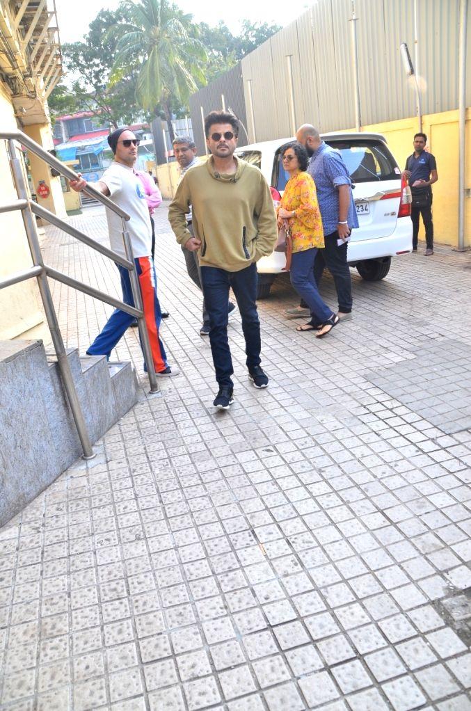 Actor Anil Kapoor seen at Juhu, in Mumbai on Nov 16, 2019. - Anil Kapoor