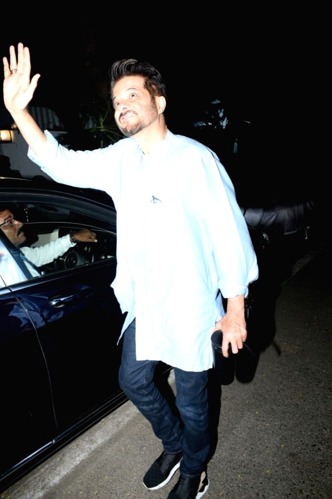 Actor Anil Kapoor seen in Mumbai's Andheri, on May 12, 2019. - Anil Kapoor