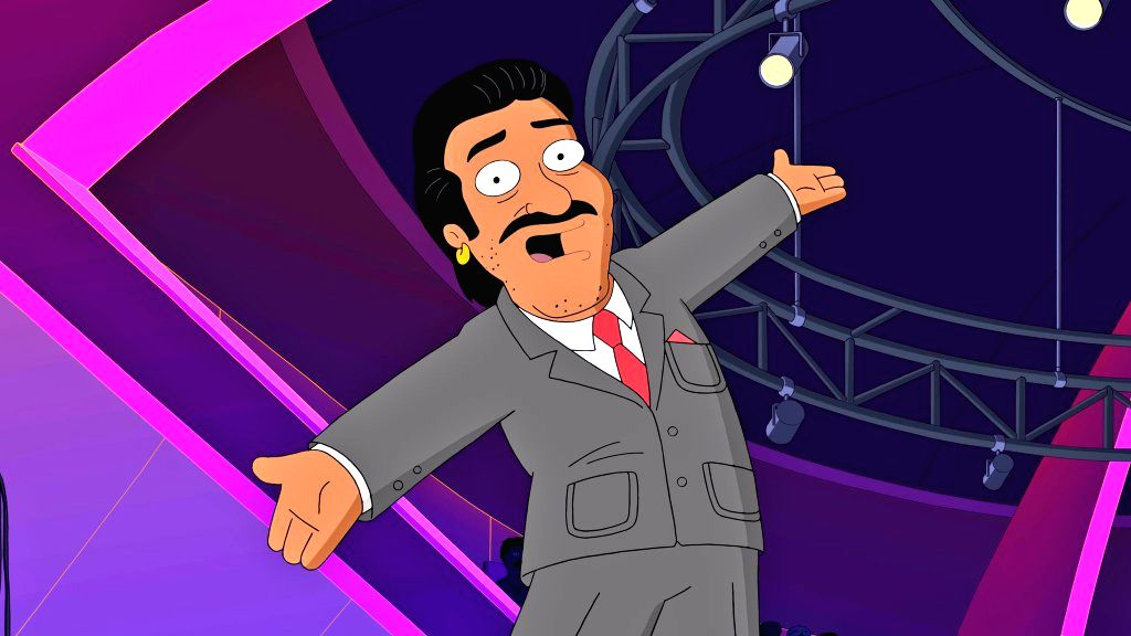 """Actor Anil Kapoor shared his first look from the adult animation show """"Family Guy"""" - Anil Kapoor"""