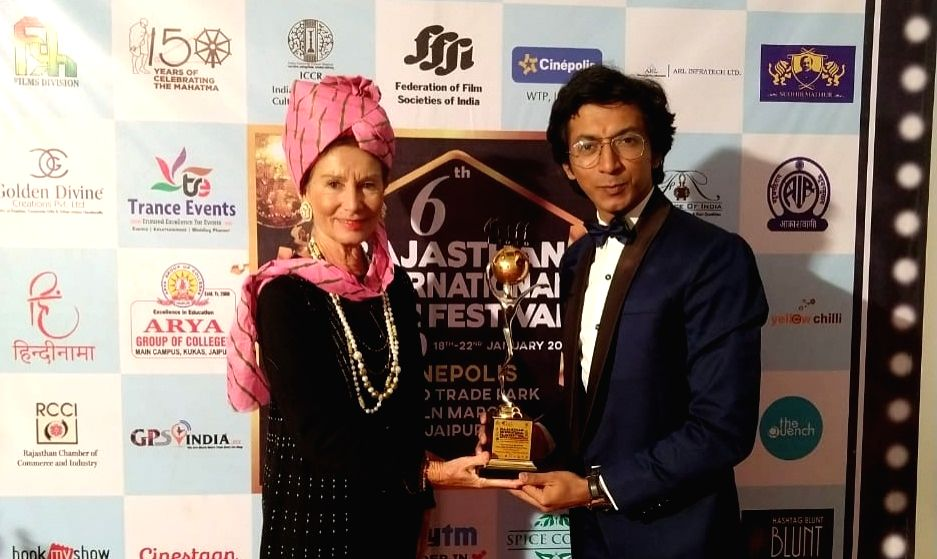 "Actor Anshuman Jha has won Jury Award Best Actor honour at the Rajasthan International Film Festival 2020 for his performance in the film ""Hum Bhi Akele, Tum Bhi Akele"". - Anshuman Jha"