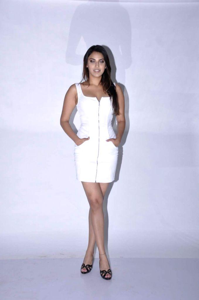 Actor Anushka Ranjan during the photo shoot, in Mumbai.