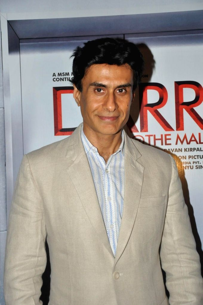 :Actor Arif Zakaria during the first look of film `Darr @ The Mall` in Mumbai on January 7, 2014. (Photo: IANS).