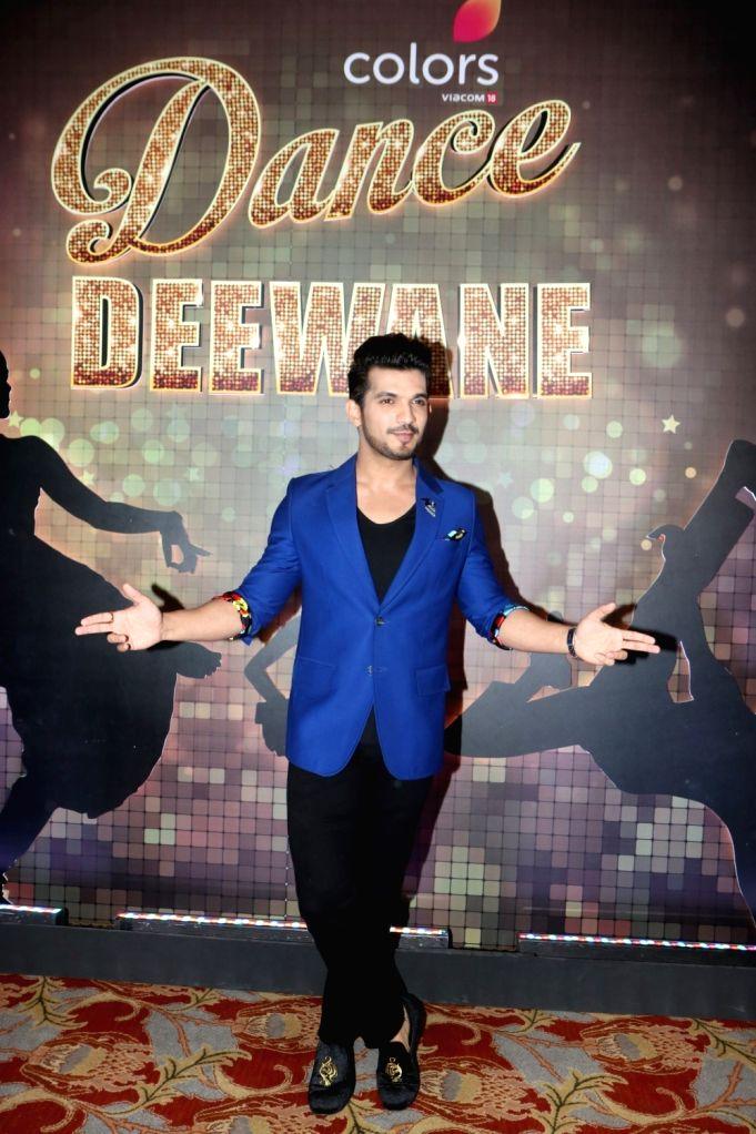 "Actor Arjun Bijlani during a interview regarding his dance reality show ""Dance Deewane"" in Mumbai on May 24, 2018. - Arjun Bijlani"