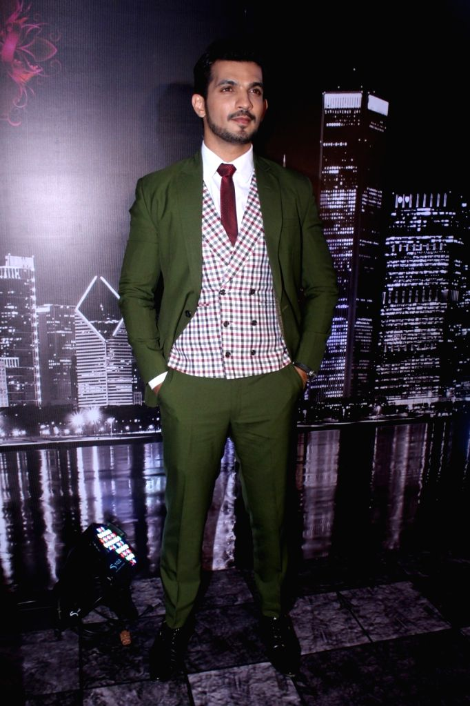 "Actor Arjun Bijlani during the launch of colors new TV Show ""Ishq Mein Marjawan"" in Mumbai on Sept 18, 2017. - Arjun Bijlani"