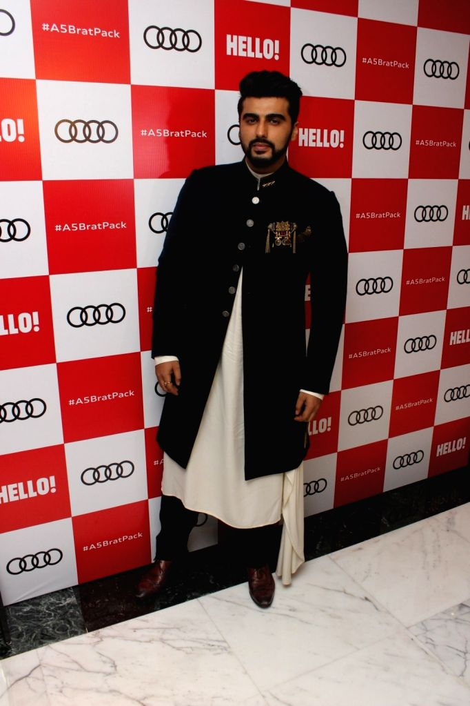 "Actor Arjun Kapoor at red carpet of ""Luxury & Fashion As Hello! & Audi"" in Mumbai on Oct 5, 2017. - Arjun Kapoor"
