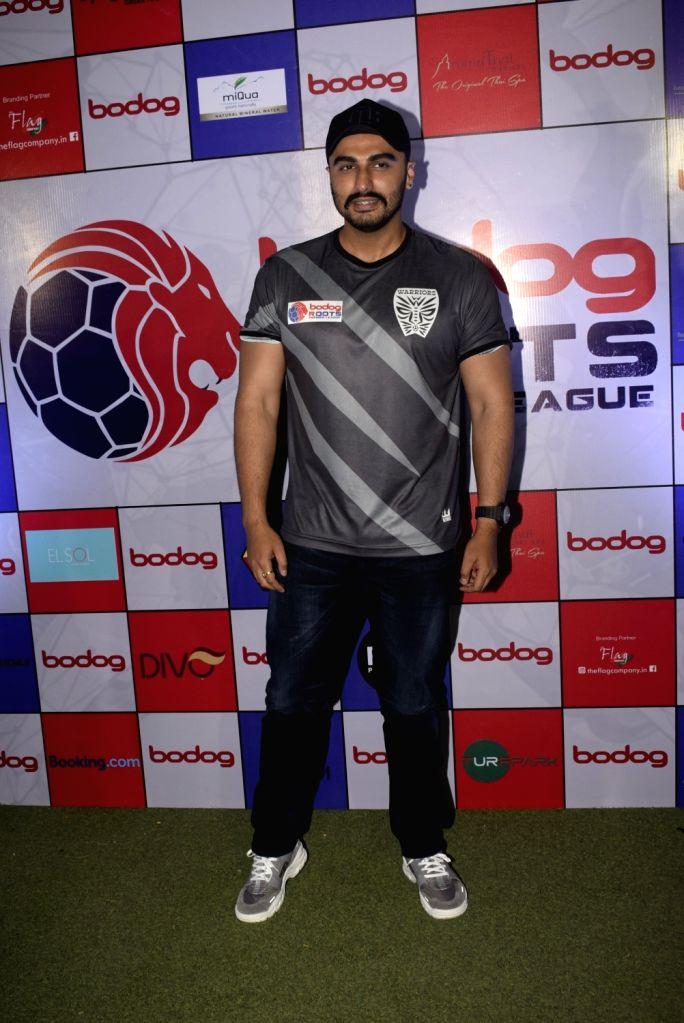 Actor Arjun Kapoor at Roots Premier League Spring Season 2019, in Mumbai, on March 9, 2019. - Arjun Kapoor