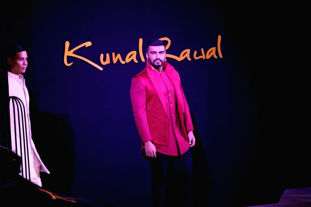 Actor Arjun Kapoor at the inauguration of fashion designer Kunal Rawal's store in New Delhi, on Sep 12,2019. - Arjun Kapoor