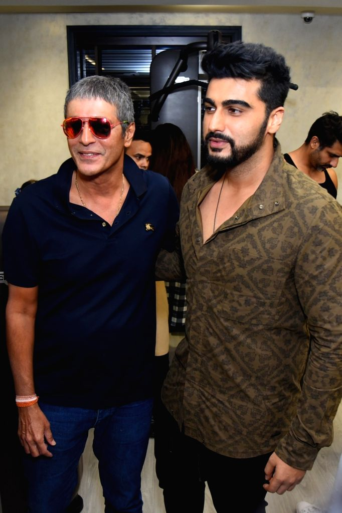 Actor Arjun Kapoor at the launch of a fitness center in New Delhi on Sept 26, 2017. - Arjun Kapoor
