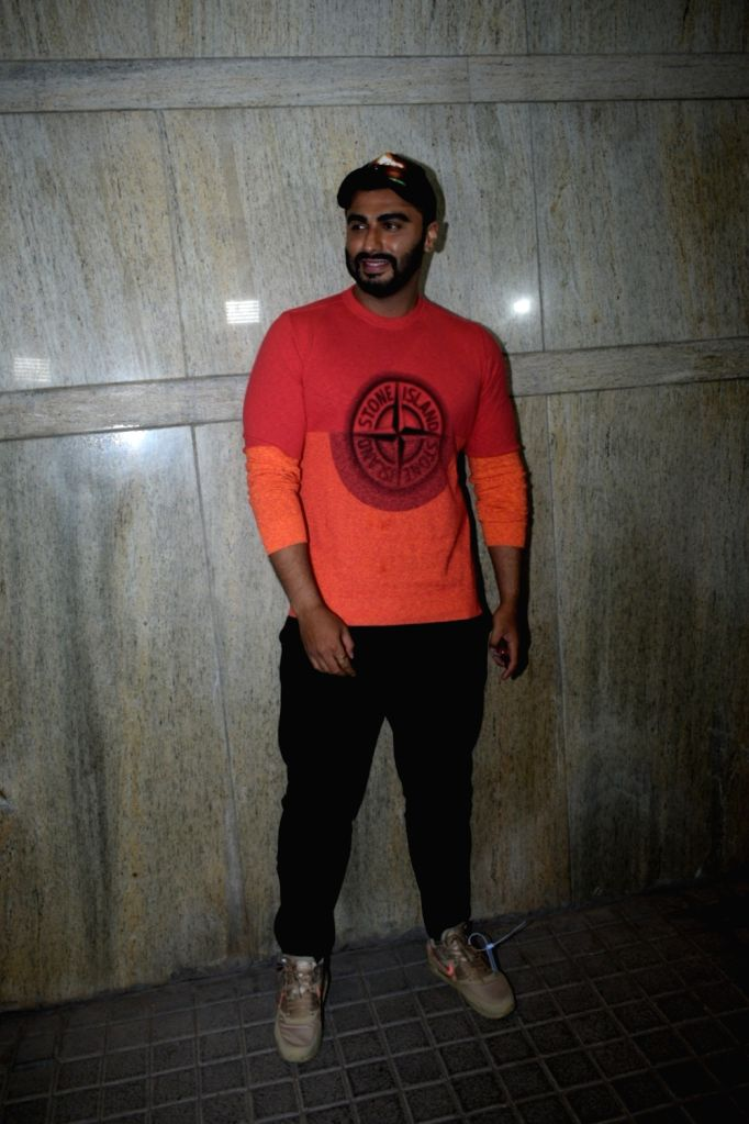 "Actor Arjun Kapoor at the screening of his upcoming film ""India's Most Wanted"" in Mumbai, on May 20, 2019. - Arjun Kapoor"
