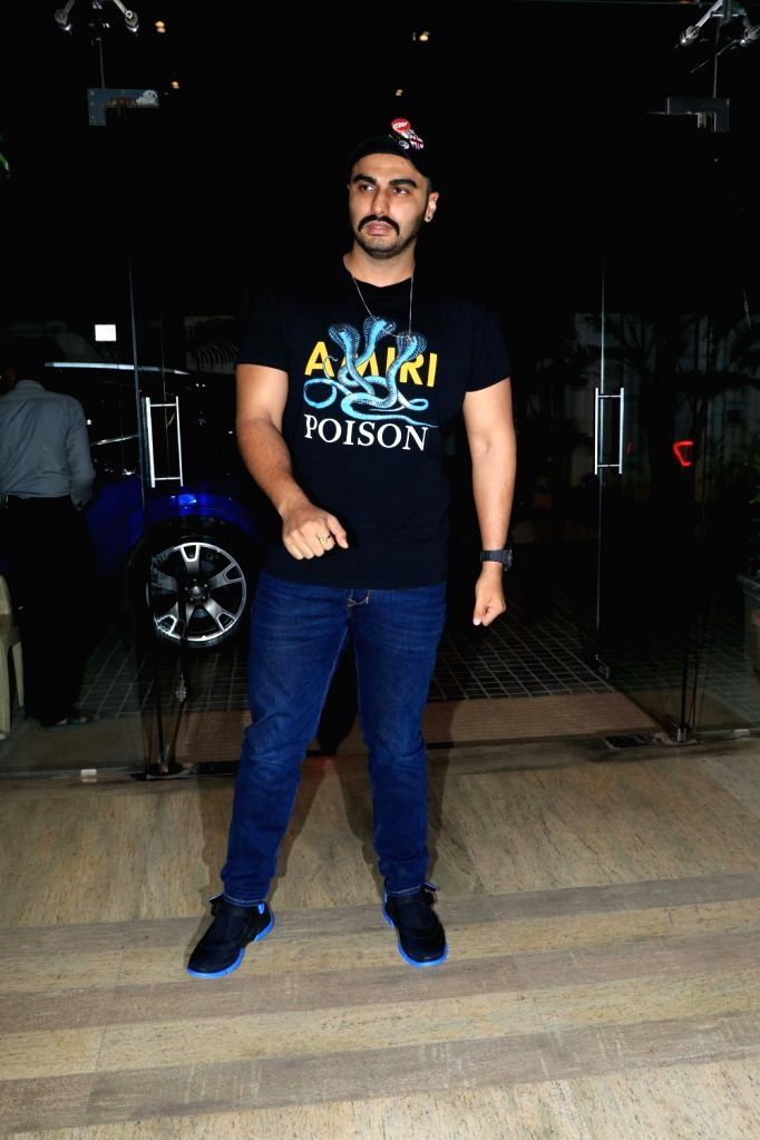 "Actor Arjun Kapoor at the screening of the upcoming film ""Ek Ladki Ko Dekha Toh Aisa Laga"" in Mumbai, on Jan 30, 2019. - Arjun Kapoor"