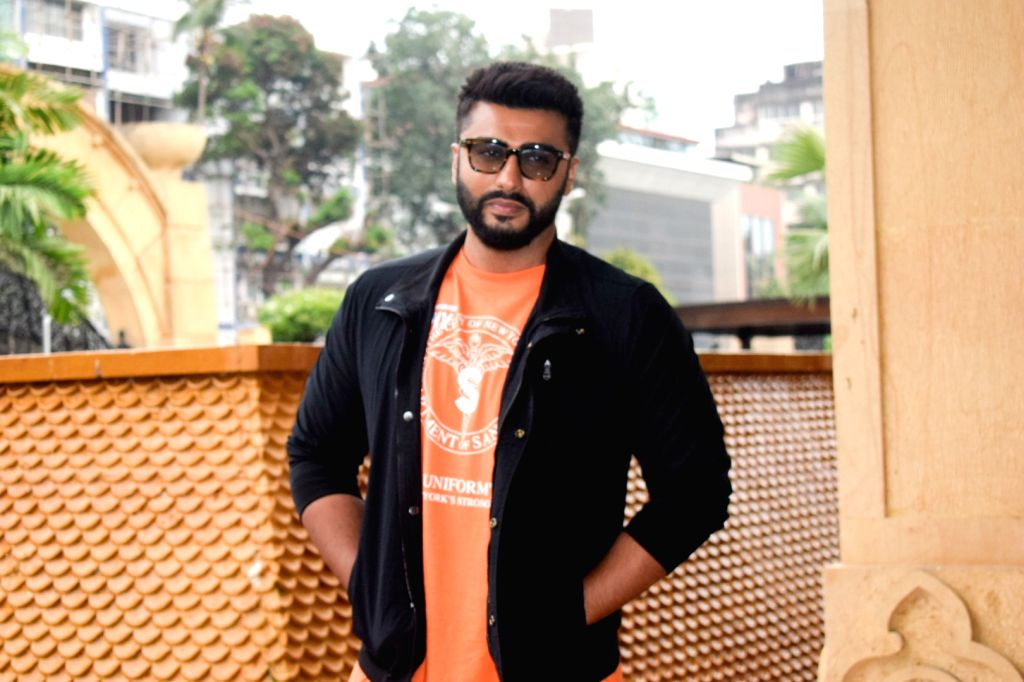 "Actor Arjun Kapoor during a media interaction of his upcoming film ""Namaste England"" in Mumbai's Bandra on Oct 5, 2018. - Arjun Kapoor"