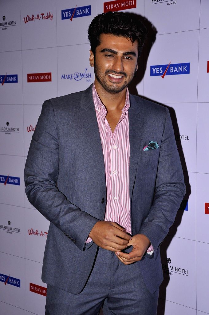 Actor Arjun Kapoor during Make a Wish Foundation event in Mumbai, India on April 26, 2014. - Arjun Kapoor