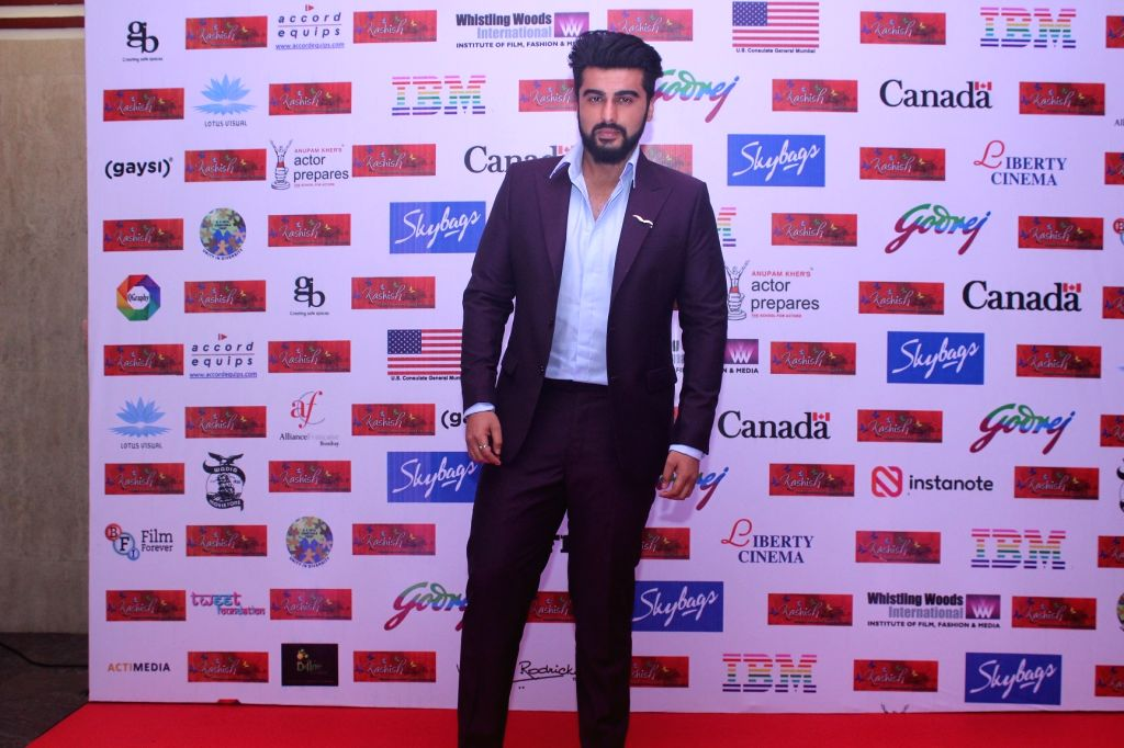 Actor Arjun Kapoor during the eighth edition of Kashish Mumbai International Queer Film Festival that kicked-off in Mumbai with 147 movies from 45 countries across the world, celebrating the ... - Arjun Kapoor