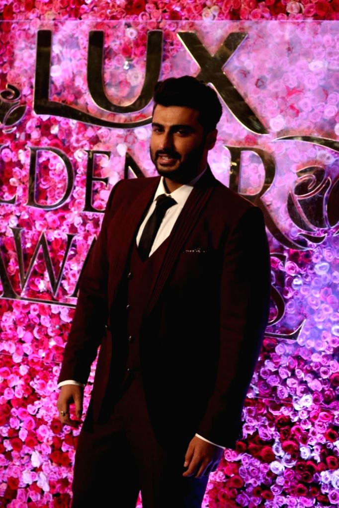 Actor Arjun Kapoor during the Lux Golden Rose Awards 2016 in Mumbai on Nov 12, 2016. - Arjun Kapoor