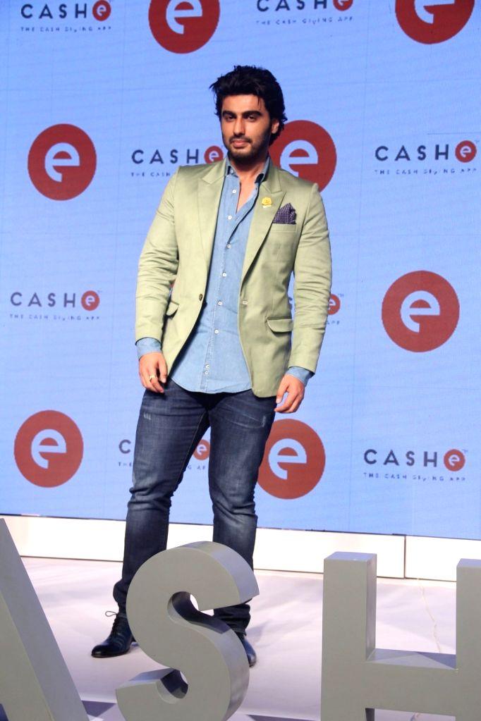 Actor Arjun Kapoor during the promotion of film Ki & Ka in Mumbai on March 31, 2016. - Arjun Kapoor