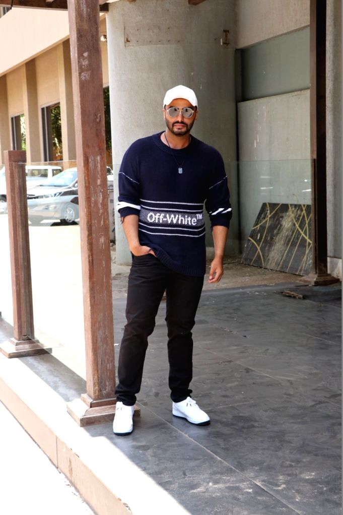 "Actor Arjun Kapoor during the promotion of his upcoming film ""India's Most Wanted"" in Mumbai, on May 16, 2019. - Arjun Kapoor"