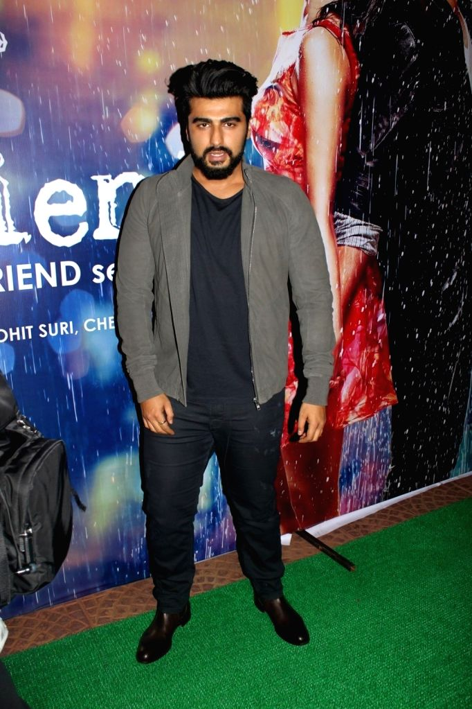 Actor Arjun Kapoor during the success party of film Half Girlfriend in Mumbai on May 26, 2017. - Arjun Kapoor