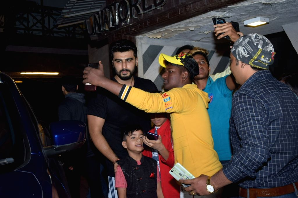 Actor Arjun Kapoor seen at Juhu, in Mumbai on Jan 10, 2020. - Arjun Kapoor