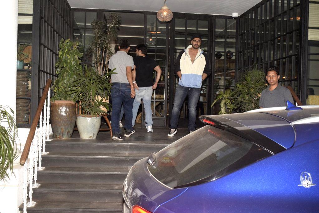 Actor Arjun Kapoor seen at Mumbai' Bandra on March 8, 2019. - Arjun Kapoor