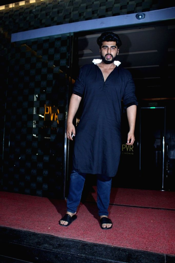 Actor Arjun Kapoor spotted for film Half Girlfriend at PVR in Mumbai on May 15, 2017. - Arjun Kapoor