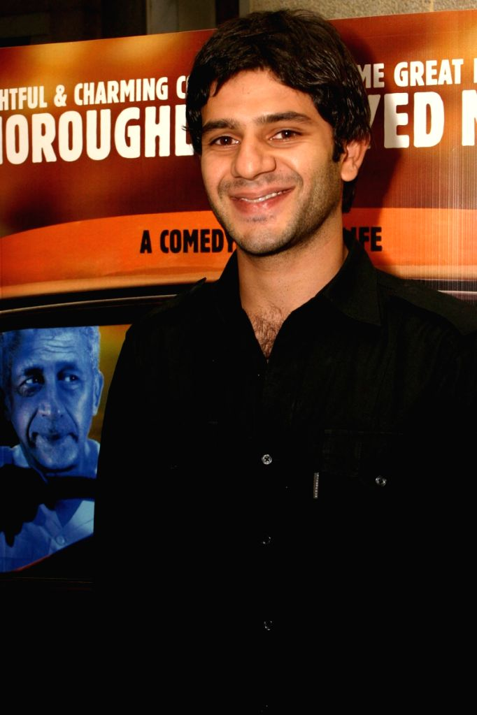 """Actor Arjun Mathur at the special screening of film """"Barah Aana"""" , in New Delhi on Tuesday 17 March 2009."""